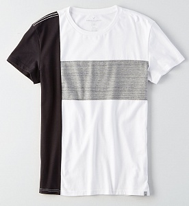 AEO Flex Colorblocking Crew T-Shirt